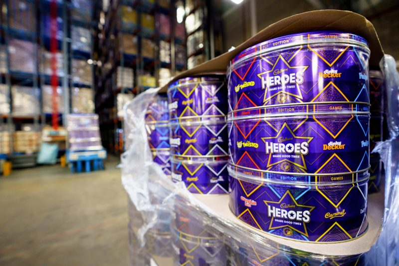 Mondelez donates thousands of chocolate products to those in need